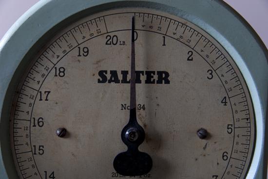 salter アンティークスケール