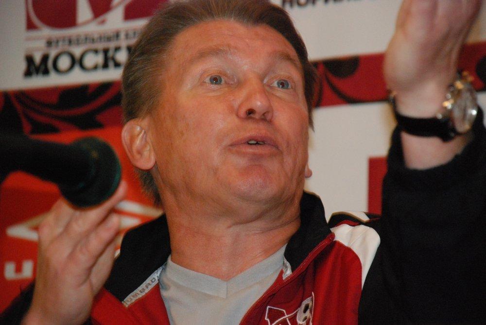Oleg Błochin w 2008 r. miał wiele pretensji do dziennikarzy z Polski - fot. Tomasz Janus/sportnaukowo.pl