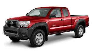 2013 Toyota Tacoma 4x4 Access Cab V6 red