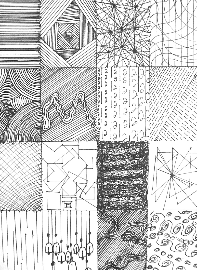 Line Design Art Lesson : Line designs lessons from the k art room