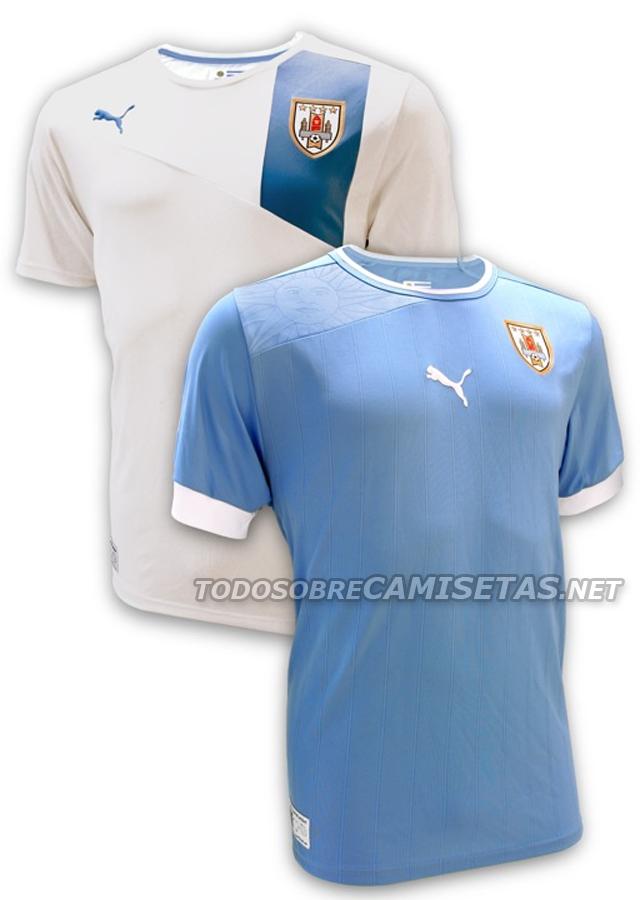 canalfútbol Blog: Camiseta puma de Uruguay 2012/13