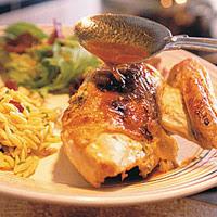 Lemon Tarragon Chicken with Pan Sauce
