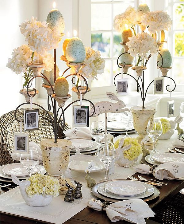 My moon miss my 39 s easter table decorating ideas for Easter dinner table setting ideas