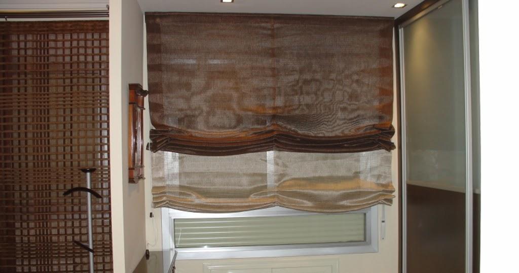 Estores cortinas modernas para tus ventanas cocinas for Estores para cocinas modernas