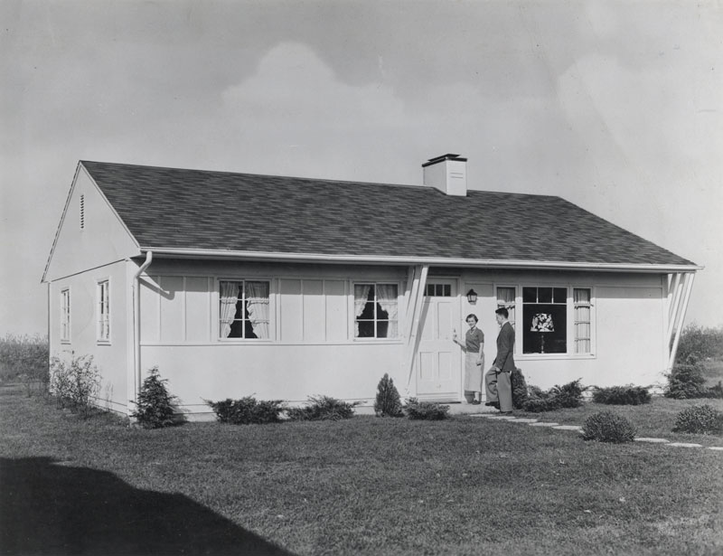 Modular home builder modular housing history the for House 1950