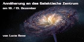 Annäherung an das Galaktische Zentrum am 18. / 19. Dezember 2017