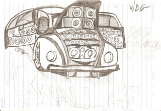 Desenhos Para Colori os Som automotivo cars  desenhar