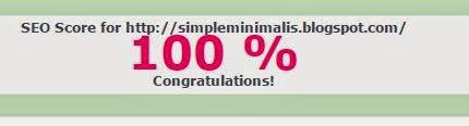 Skor SEO Simple-Minimalis