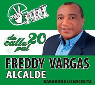 FREDY VARGAS ALCALDE 2020
