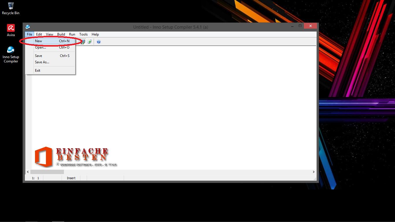 Cara Membuat File Installer (.exe) Dengan Inno Setup Compiler 5.4.1