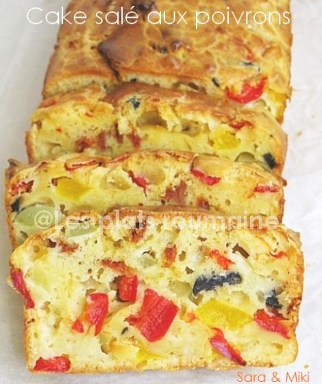 Cake Aux Olives Poivrons