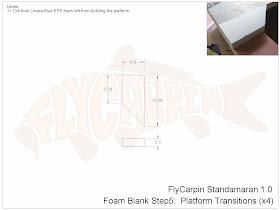 Standamaran SUP Plans Foam Blank Step 5