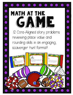 https://www.teacherspayteachers.com/Product/No-Prep-Place-Value-Practice-Math-at-the-Game-1910895