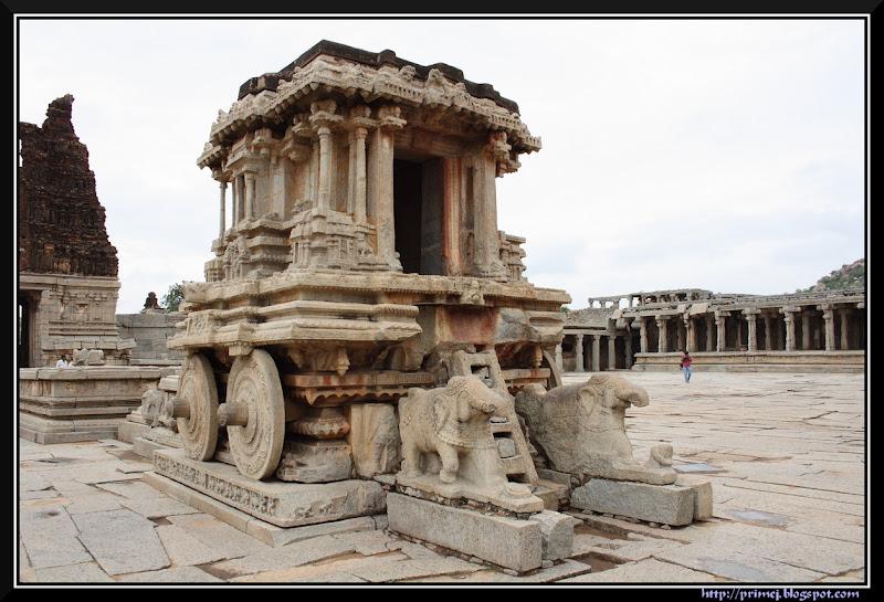 Stone Chariot, Vittala Temple