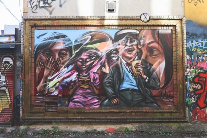Toronto, Street Art, Graffiti, Elicser