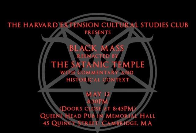 Harvard University to Hold Satanic Black Mass on Monday