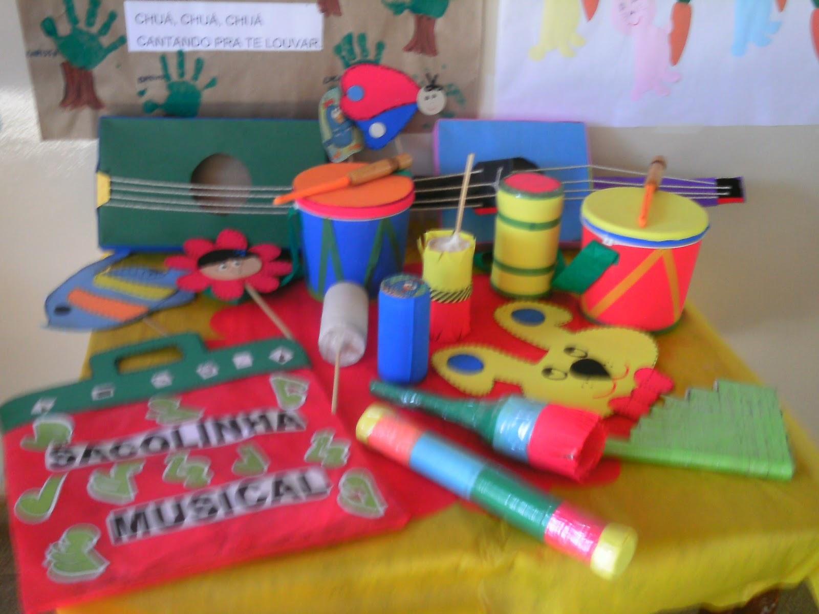 Projeto musica educação infantil