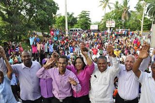 El padrecito recibe respaldo masivo a sus aspiraciones a la Dirección del Distrito Municipal de Hato Damas
