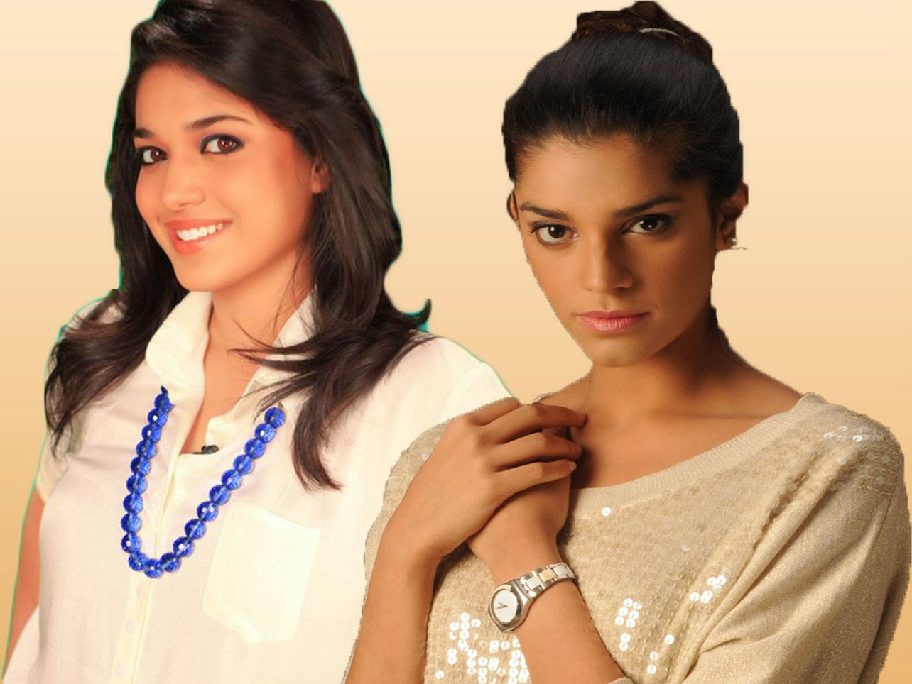 Sanam Saeed and Sanam Jang - Pakistani TV actresses