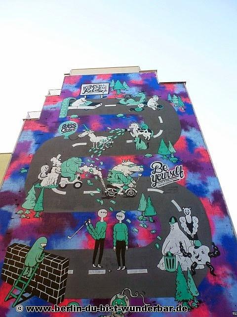 berlin, streetart, graffiti, kunst, stadt, artist, strassenkunst, murale, werk, kunstler, art, Clash Wall, Wurstbande, Rylsee, Gogo Plata