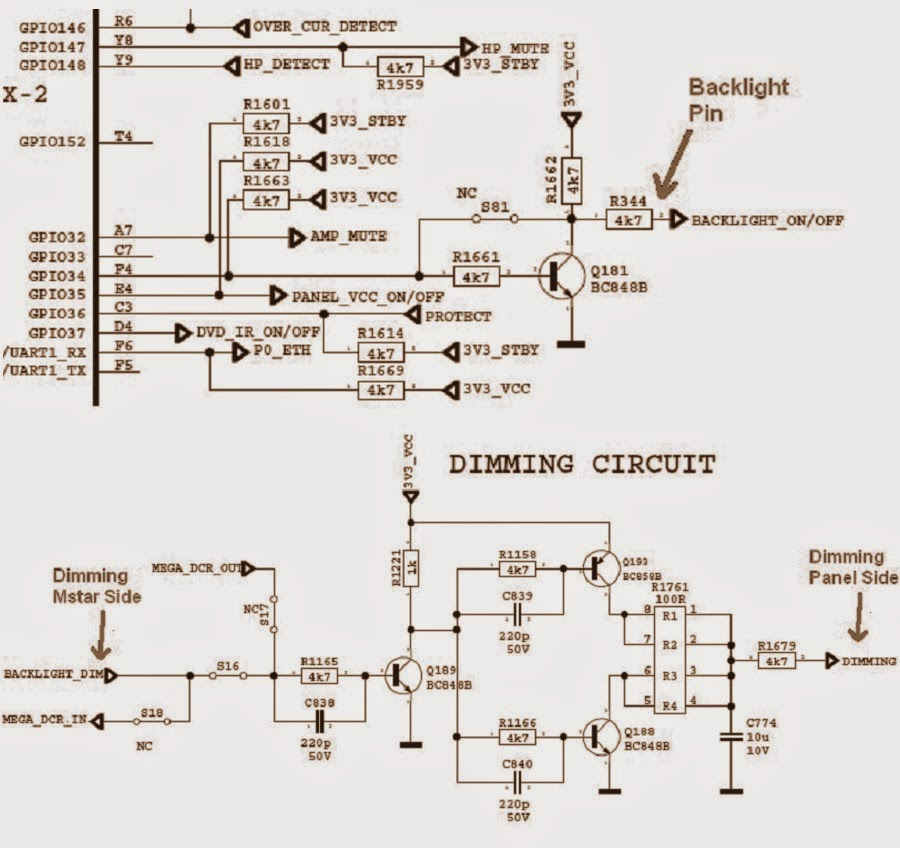 Sharp Lc24le510 Led Tv Power Supply  Smps   U0026 Led Converter Circuit Diagram
