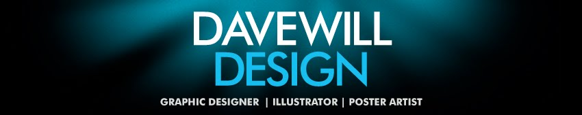 dave will design - graphic designer | illustrator | poster artist