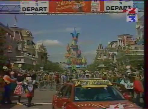 Tour de France 1997 Disneyland Paris