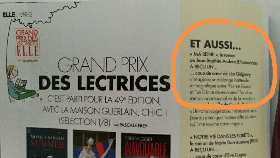 Léa Touch Book dans ELLE !