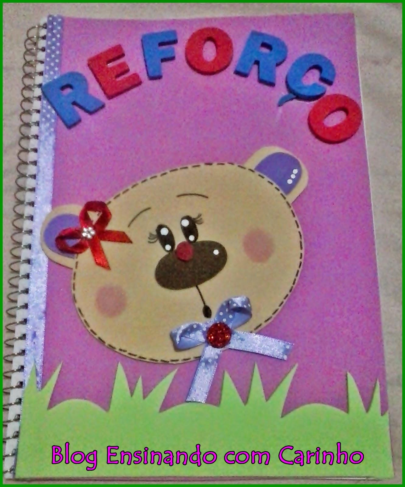 Fabuloso Ensinando com Carinho: Caderno de reforço ZP37