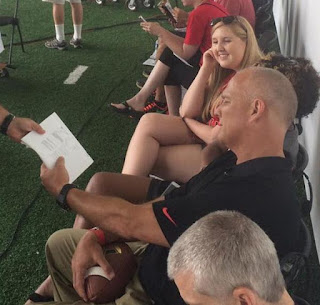 Mark Richt looks lean and mean with new buzzcut.