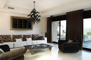 Casa de lujo. Interior