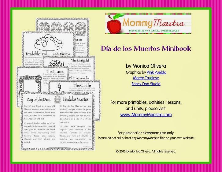 Mommy Maestra Oy Mexico  A Día de los Muertos App