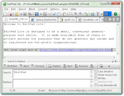 EditPad Lite 7.2.0