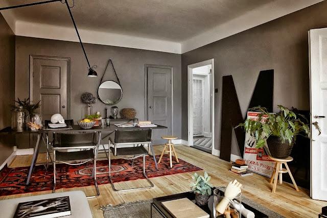 Decordemon a beautiful grey apartment - Deco appartement vintage ...