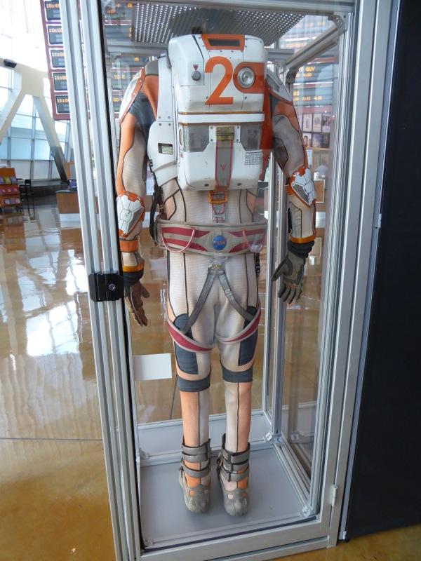 Original NASA spacesuit back The Martian