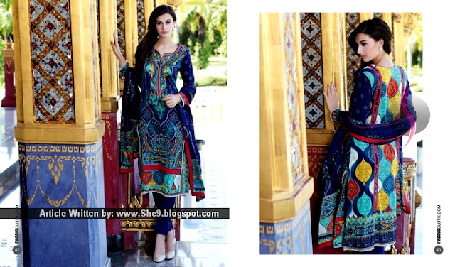Firdous Eid Lawn Collection 2015