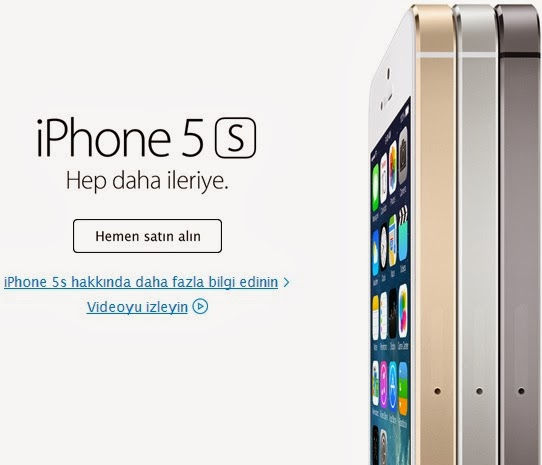 iphone 5s turkiye