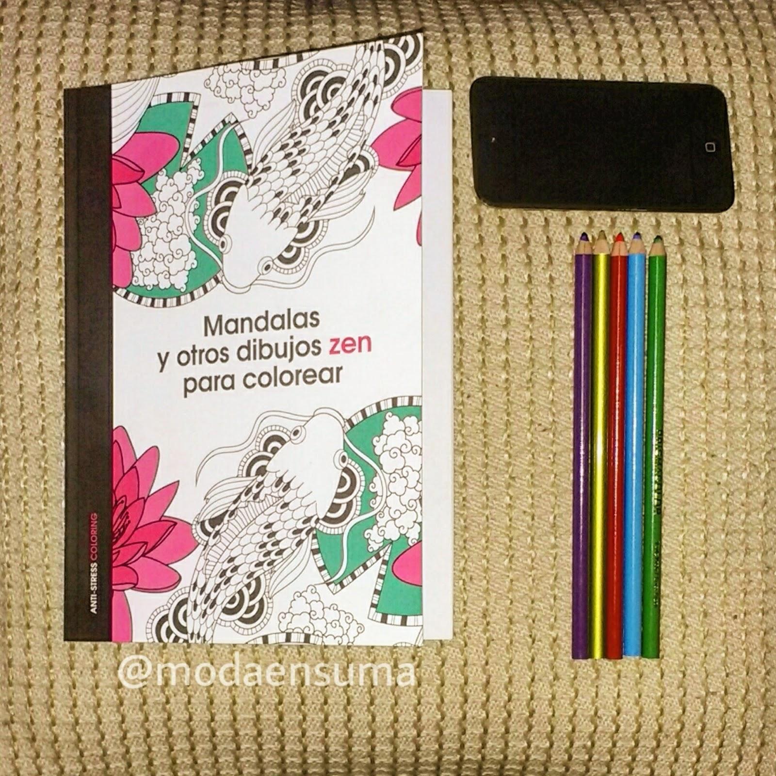 moda en suma: Libro para colorear Mandalas Editorial Planeta ...