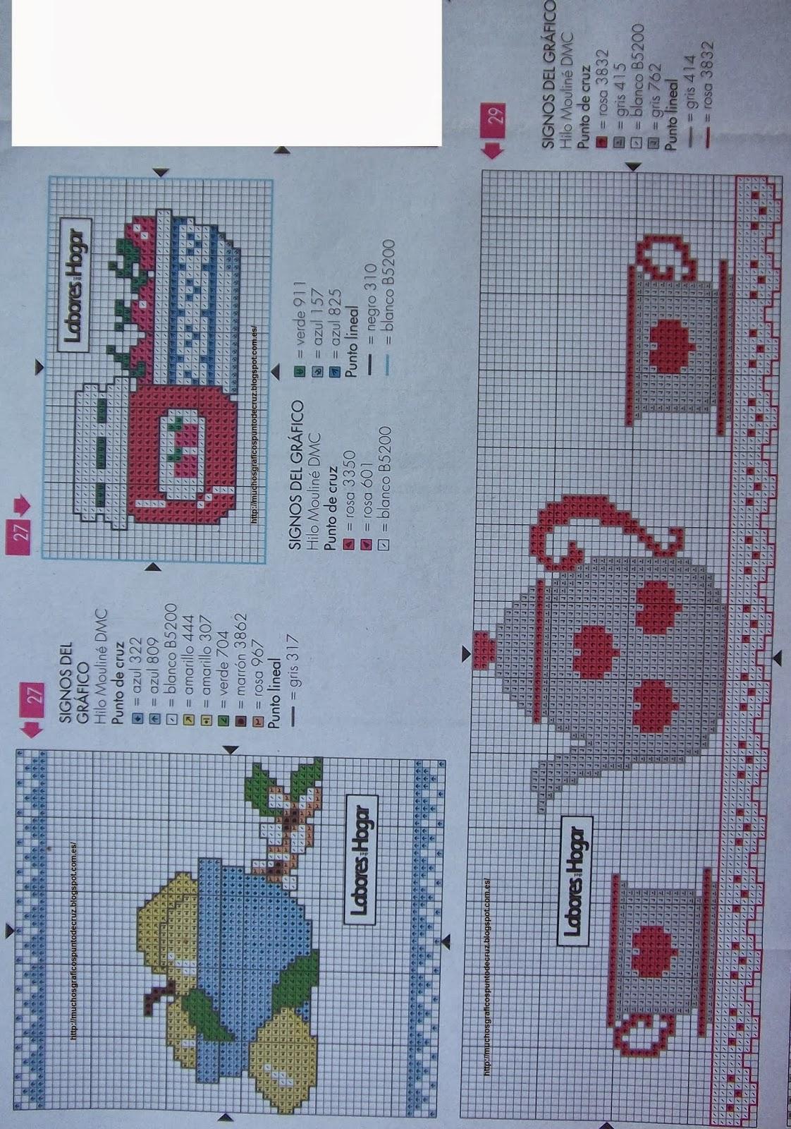Graficos punto de cruz gratis toallas pa os cocina 40 - Punto de cruz cocina ...
