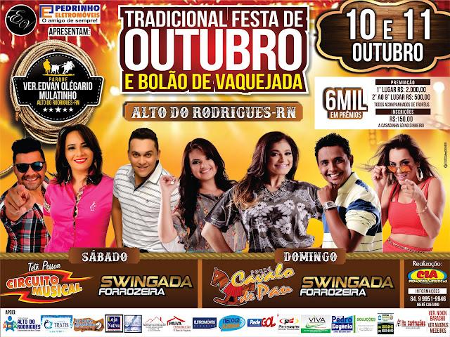 FESTA TRADICIONAL DE OUTUBRO