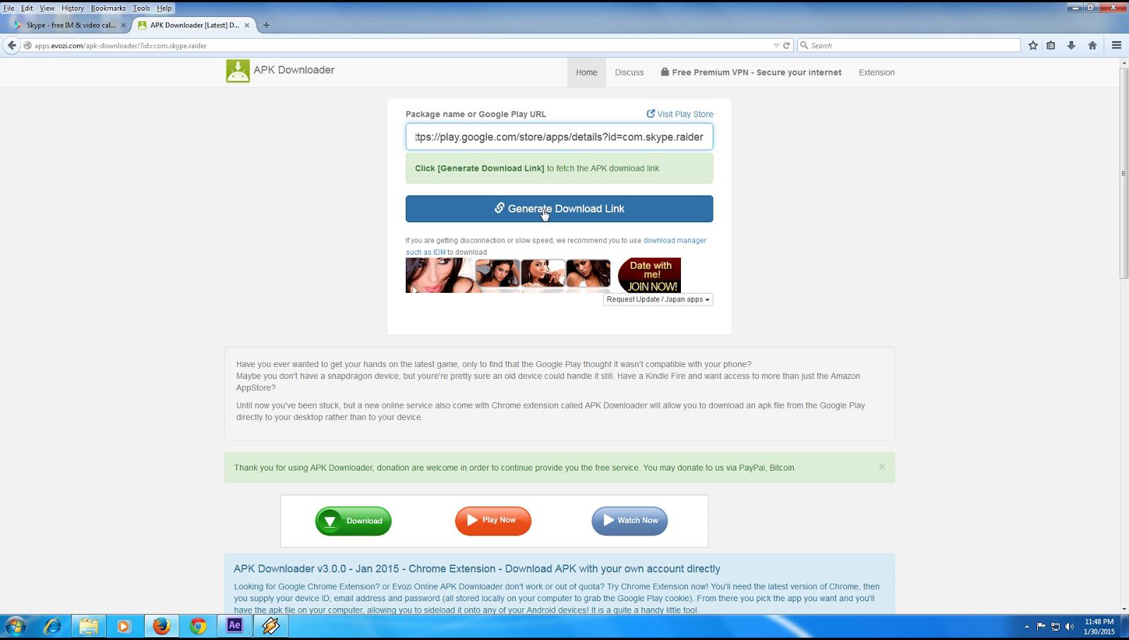 com skype raider apk download