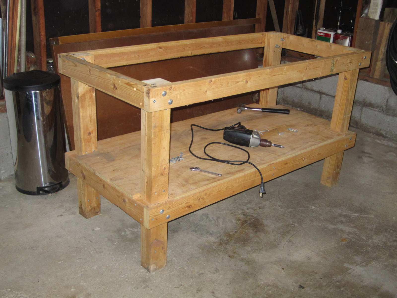 Wood Work Bench Plans