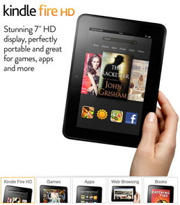Tablet Kindle Fire HD Resmi Dijual Untuk 170 Negara