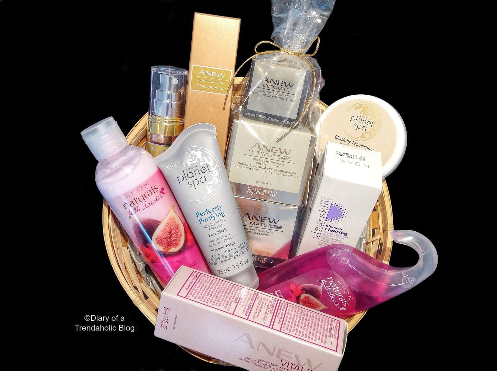 Diary of a trendaholic spa gift baskets with avon spa gift baskets with avon negle Images