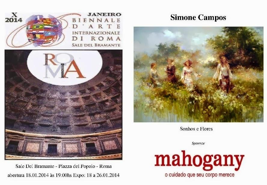 fc4a6d668d27f SIMONE CAMPOS PARTICIPA NA BIENNALE D ARTE INTERNAZIONALE DI ROMA