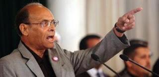 Marzouki en réaction aux déclarations de Ghannouchi
