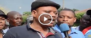 Regardez la vidéo de la marche de ce 10 Avril, Il était là le SG de l'UDPS Jean Marc Kabund