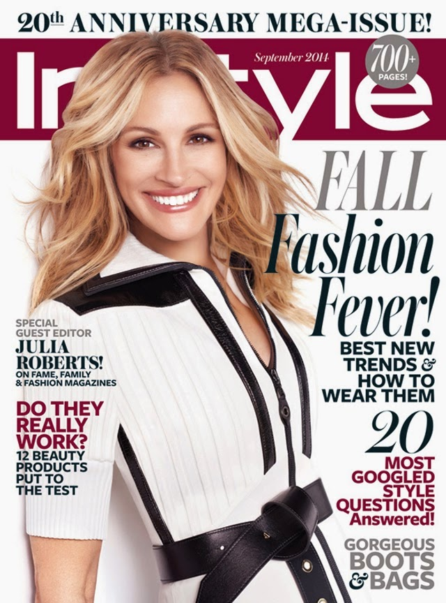 Julia Roberts - InStyle Magazine, September 2014