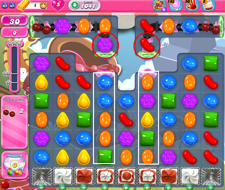 Candy Crush Saga 1041