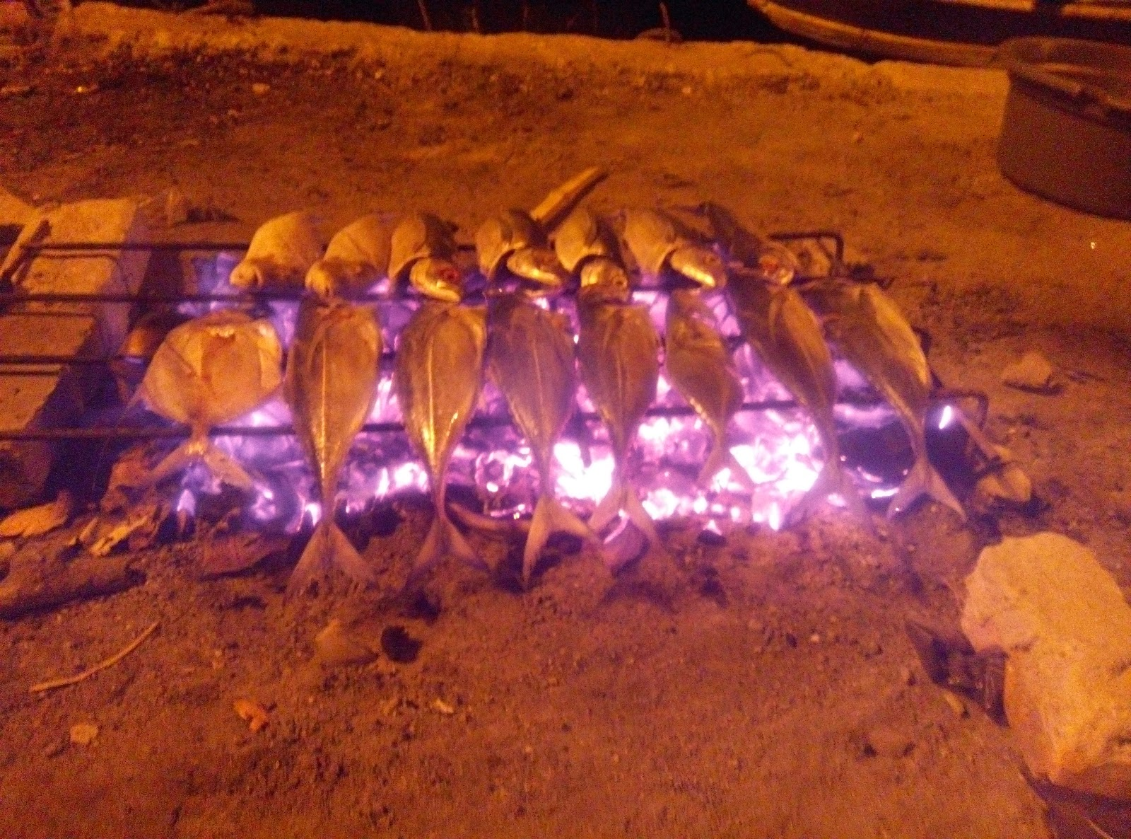 Ikan Tengkek Bakar